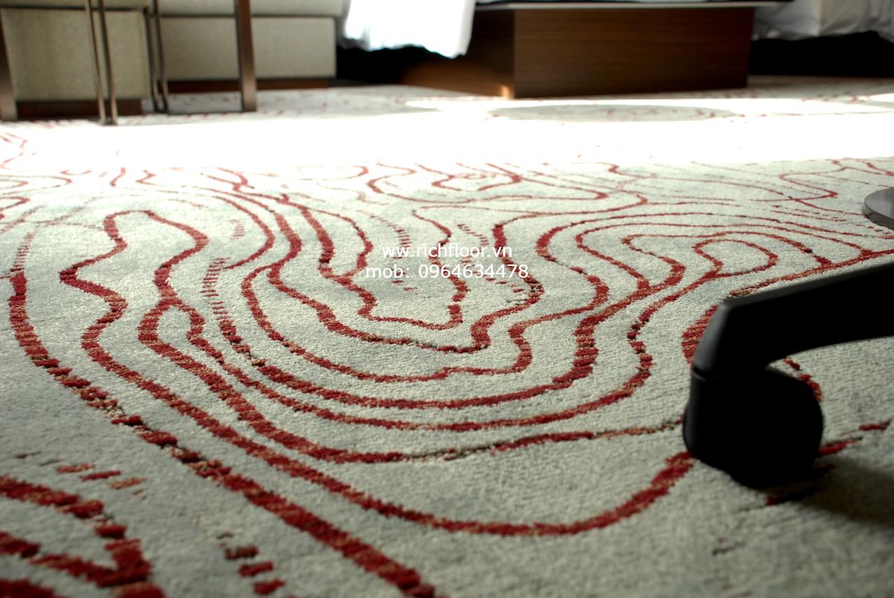 thảm cuộn khách sạn